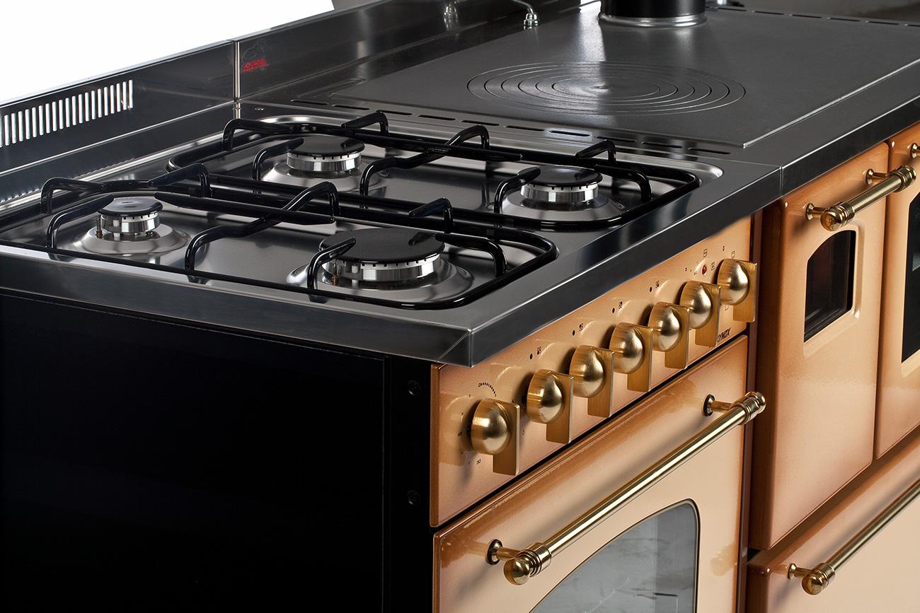 Abbinamento Cucina Gas e Legna da140 – Cucine, Stufe a Legna e ...