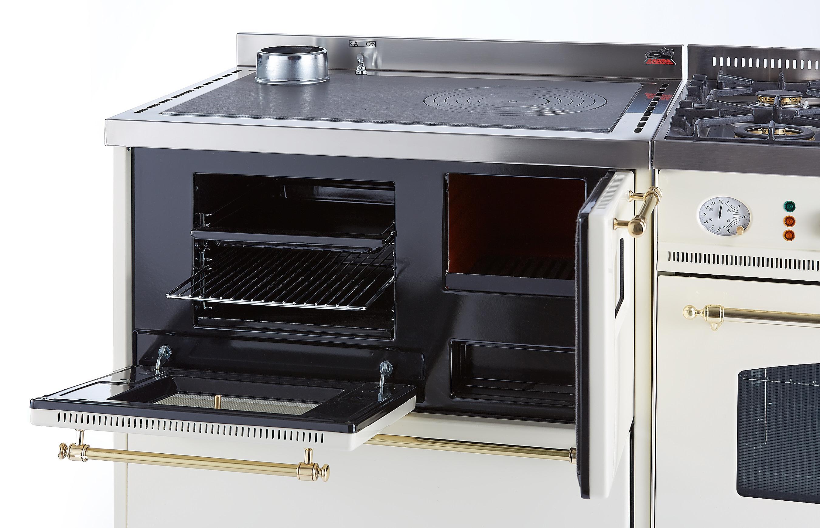 Cucine a legna e gas: cucina a legna la nordica romantica dx kw ...