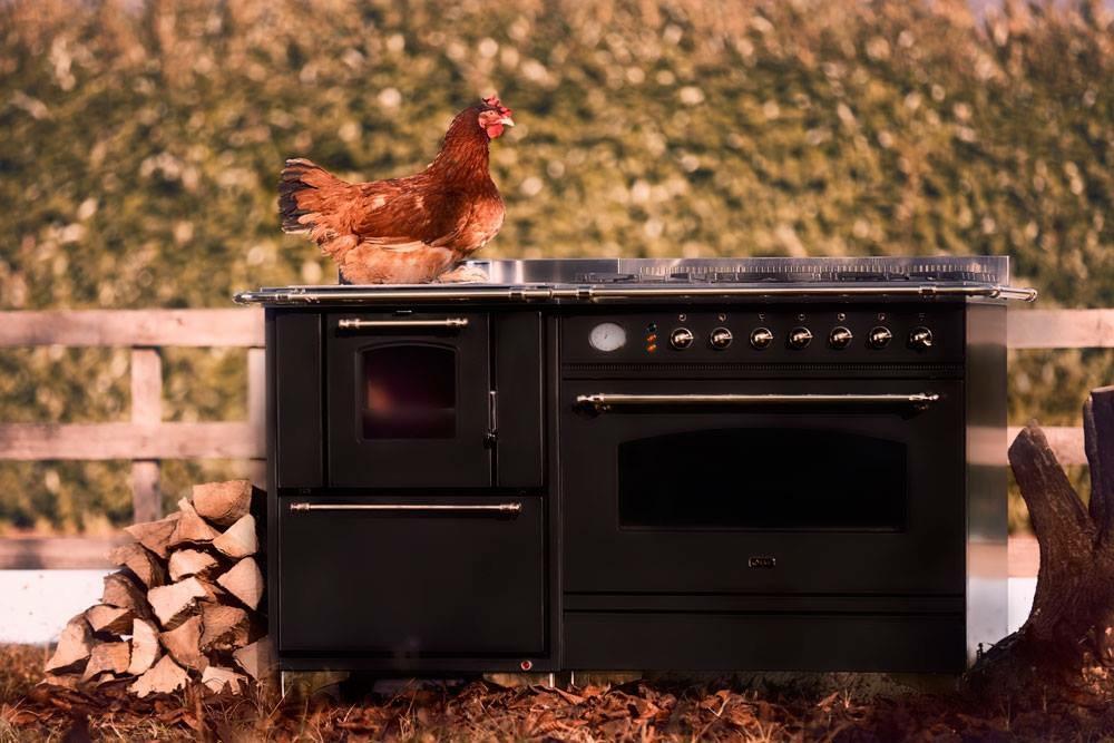 Abbinamento Cucina Gas Legna da 150 – Cucine, Stufe a Legna e ...