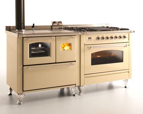 Cucine, Stufe a Legna e termocucine – Cucine a legna e stufe legna o pellet, termocucine